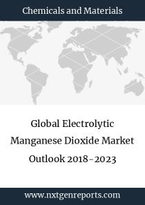 Global Electrolytic Manganese Dioxide Market Outlook 2018-2023
