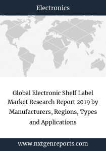 Global Electronic Shelf Label Market Research Report 2019 by Manufacturers, Regions, Types and Applications