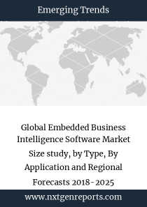 Global Embedded Business Intelligence Software Market Size study, by Type, By Application and Regional Forecasts 2018-2025