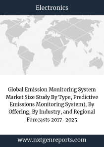Global Emission Monitoring System Market Size Study By Type, Predictive Emissions Monitoring System), By Offering, By Industry, and Regional Forecasts 2017-2025