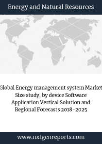 Global Energy management system Market Size study, by device Software Application Vertical Solution and Regional Forecasts 2018-2025