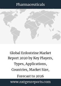 Global Erdosteine Market Report 2020 by Key Players, Types, Applications, Countries, Market Size, Forecast to 2026