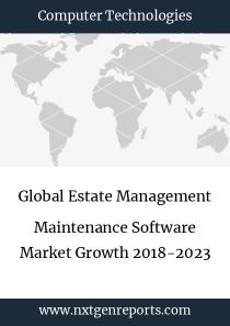 Global Estate Management Maintenance Software Market Growth 2018-2023