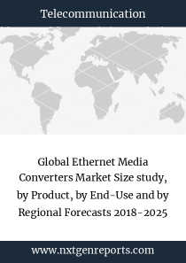 Global Ethernet Media Converters Market Size study, by Product, by End-Use and by Regional Forecasts 2018-2025