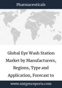 Global Eye Wash Station Market by Manufacturers, Regions, Type and Application, Forecast to 2024