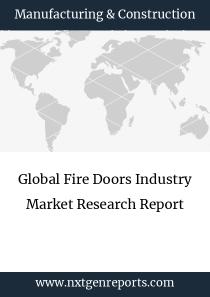 Global Fire Doors Industry Market Research Report