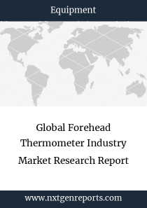 Global Forehead Thermometer Industry Market Research Report