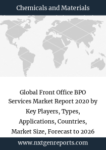 Global Front Office BPO Services Market Report 2020 by Key Players, Types, Applications, Countries, Market Size, Forecast to 2026