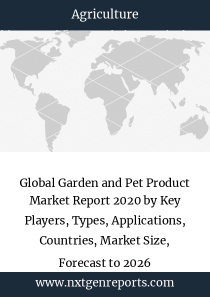Global Garden and Pet Product Market Report 2020 by Key Players, Types, Applications, Countries, Market Size, Forecast to 2026