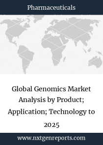 Global Genomics Market Analysis by Product; Application; Technology to 2025