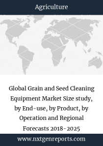 Global Grain and Seed Cleaning Equipment Market Size study, by End-use, by Product, by Operation and Regional Forecasts 2018-2025