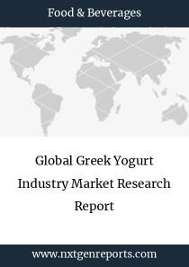 Global Greek Yogurt Industry Market Research Report