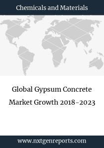 Global Gypsum Concrete Market Growth 2018-2023