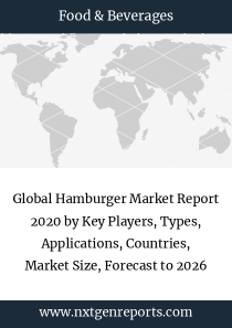 Global Hamburger Market Report 2020 by Key Players, Types, Applications, Countries, Market Size, Forecast to 2026