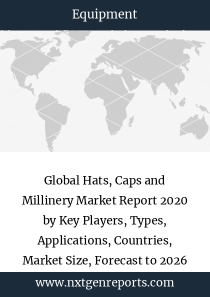 Global Hats, Caps and Millinery Market Report 2020 by Key Players, Types, Applications, Countries, Market Size, Forecast to 2026