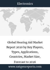 Global Hearing Aid Market Report 2020 by Key Players, Types, Applications, Countries, Market Size, Forecast to 2026
