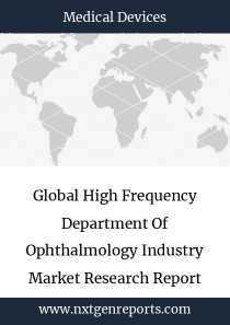 Global High Frequency Department Of Ophthalmology Industry Market Research Report