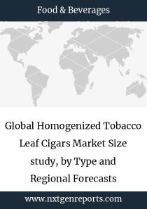 Global Homogenized Tobacco Leaf Cigars Market Size study, by Type and Regional Forecasts 2018-2025