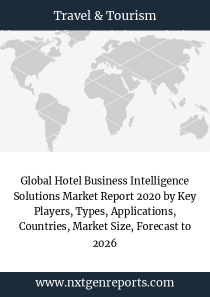 Global Hotel Business Intelligence Solutions Market Report 2020 by Key Players, Types, Applications, Countries, Market Size, Forecast to 2026