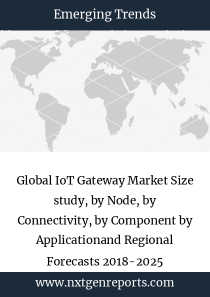 Global IoT Gateway Market Size study, by Node, by Connectivity, by Component by Applicationand Regional Forecasts 2018-2025