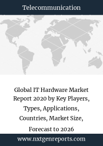 Global IT Hardware Market Report 2020 by Key Players, Types, Applications, Countries, Market Size, Forecast to 2026