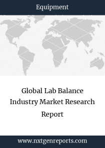 Global Lab Balance Industry Market Research Report