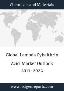 Global Lambda Cyhalthrin Acid Market Outlook 2017-2022