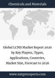 Global LCMS Market Report 2020 by Key Players, Types, Applications, Countries, Market Size, Forecast to 2026