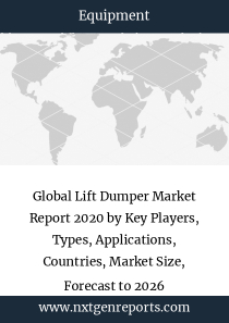 Global Lift Dumper Market Report 2020 by Key Players, Types, Applications, Countries, Market Size, Forecast to 2026