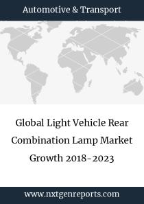 Global Light Vehicle Rear Combination Lamp Market Growth 2018-2023
