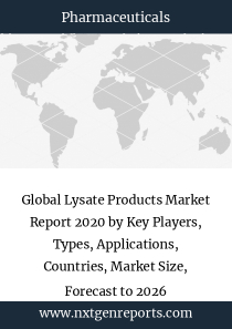 Global Lysate Products Market Report 2020 by Key Players, Types, Applications, Countries, Market Size, Forecast to 2026