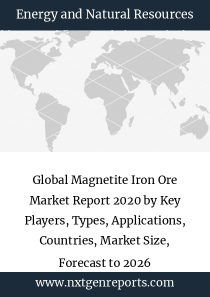 Global Magnetite Iron Ore Market Report 2020 by Key Players, Types, Applications, Countries, Market Size, Forecast to 2026