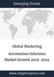 Global Marketing Automation Solutions Market Growth 2019-2024