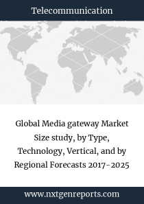 Global Media gateway Market Size study, by Type, Technology, Vertical, and by Regional Forecasts 2017-2025