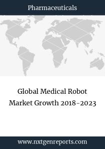 Global Medical Robot Market Growth 2018-2023