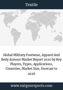 Global Military Footwear, Apparel And Body Armour Market Report 2020 by Key Players, Types, Applications, Countries, Market Size, Forecast to 2026