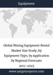 Global Mining Equipment Rental Market Size Study, by Equipment Type, by Application by Regional Forecasts 2017-2025