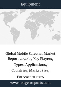 Global Mobile Screener Market Report 2020 by Key Players, Types, Applications, Countries, Market Size, Forecast to 2026
