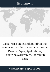 Global Nano Scale Mechanical Testing Equipment Market Report 2020 by Key Players, Types, Applications, Countries, Market Size, Forecast to 2026