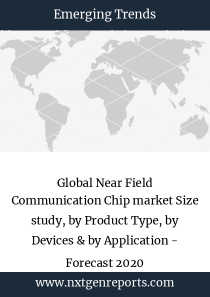 Global Near Field Communication Chip market Size study, by Product Type, by Devices & by Application - Forecast 2020