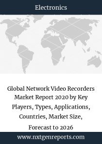Global Network Video Recorders Market Report 2020 by Key Players, Types, Applications, Countries, Market Size, Forecast to 2026