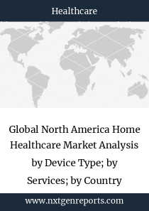 Global North America Home Healthcare Market Analysis by Device Type; by Services; by Country