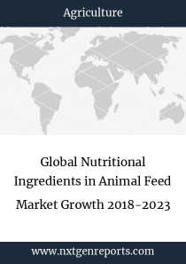 Global Nutritional Ingredients in Animal Feed Market Growth 2018-2023