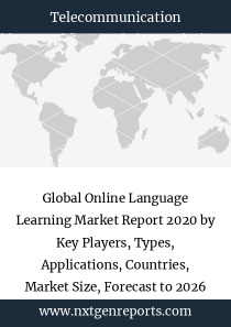 Global Online Language Learning Market Report 2020 by Key Players, Types, Applications, Countries, Market Size, Forecast to 2026