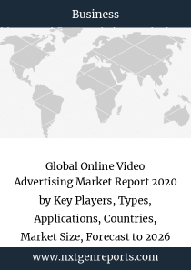 Global Online Video Advertising Market Report 2020 by Key Players, Types, Applications, Countries, Market Size, Forecast to 2026