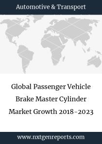 Global Passenger Vehicle Brake Master Cylinder Market Growth 2018-2023