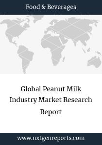 Global Peanut Milk Industry Market Research Report