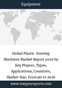 Global Plastic-Envelop Machines Market Report 2020 by Key Players, Types, Applications, Countries, Market Size, Forecast to 2026
