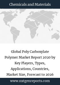 Global Poly Carboxylate Polymer Market Report 2020 by Key Players, Types, Applications, Countries, Market Size, Forecast to 2026