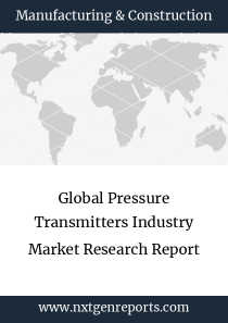 Global Pressure Transmitters Industry Market Research Report